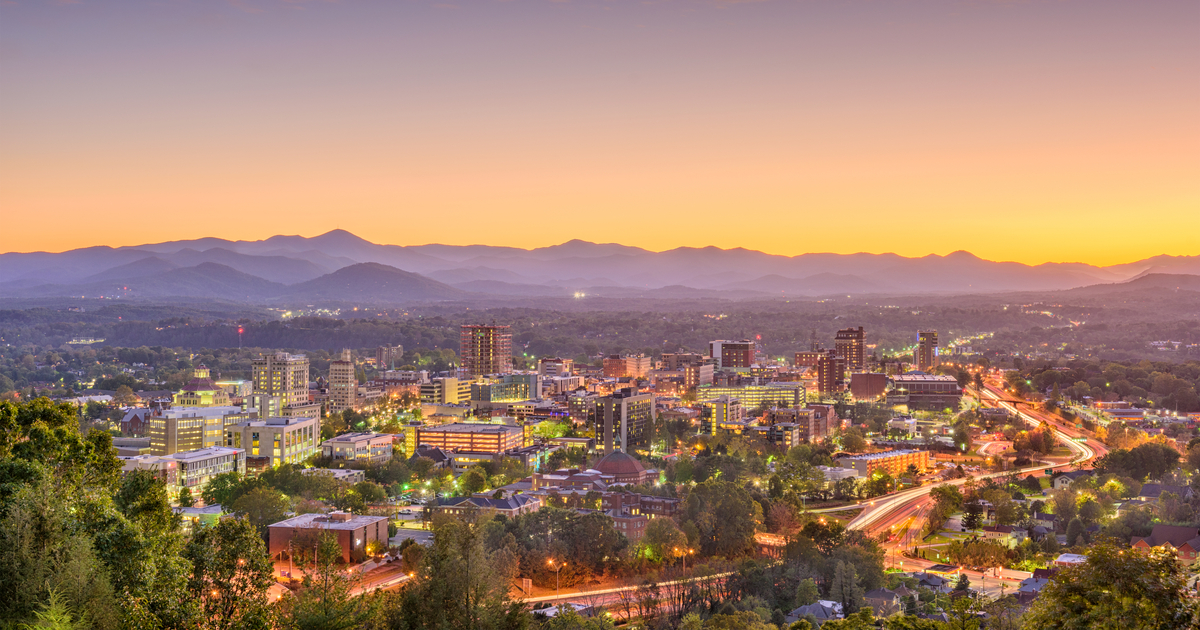 Long distance Moving: Life in Asheville, NC | Move It Cube It