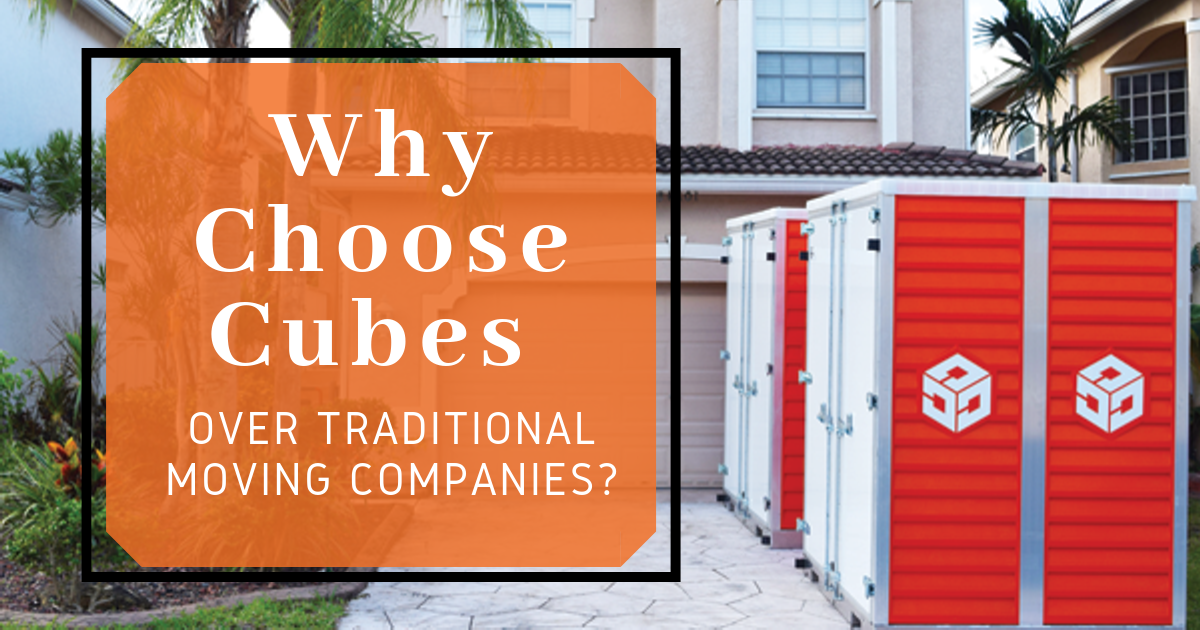 Why Choose Cubes over Traditional Moving Companies | Move It Cube It